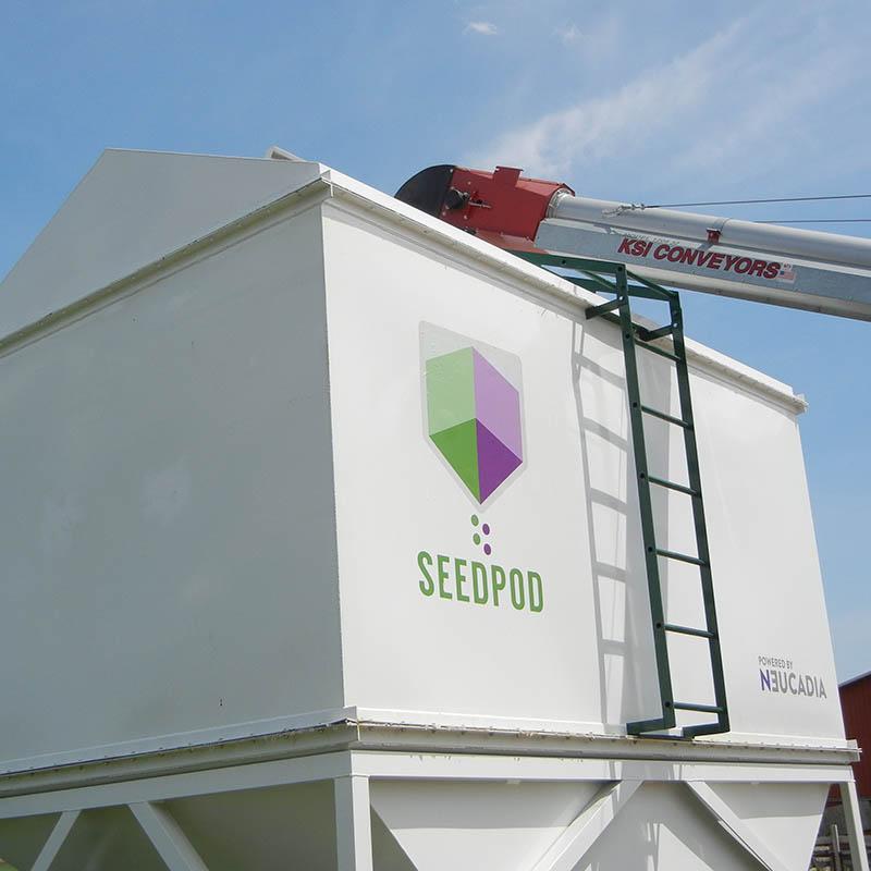 Seedpod | Portable & practical bulk seed storage on the farm